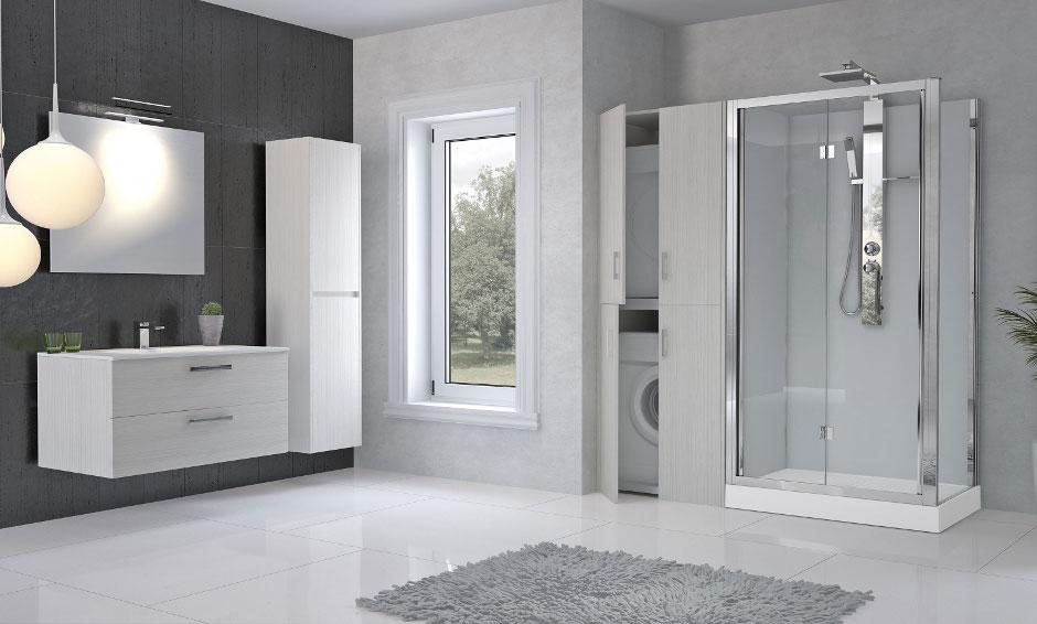 von badewanne zur duschabtrennungen novellini at. Black Bedroom Furniture Sets. Home Design Ideas