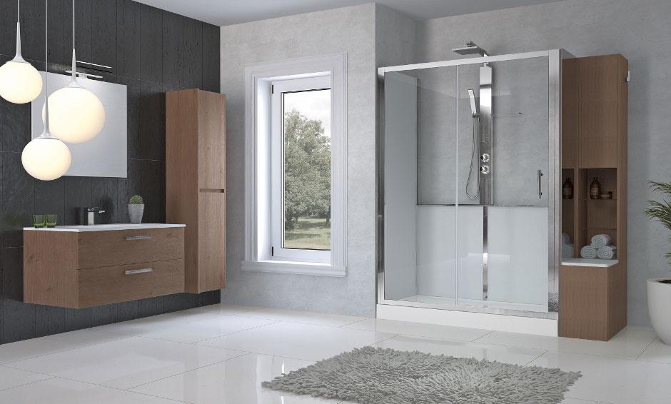 Von badewanne zur duschabtrennungen novellini at for Camminare attraverso la doccia alla vasca